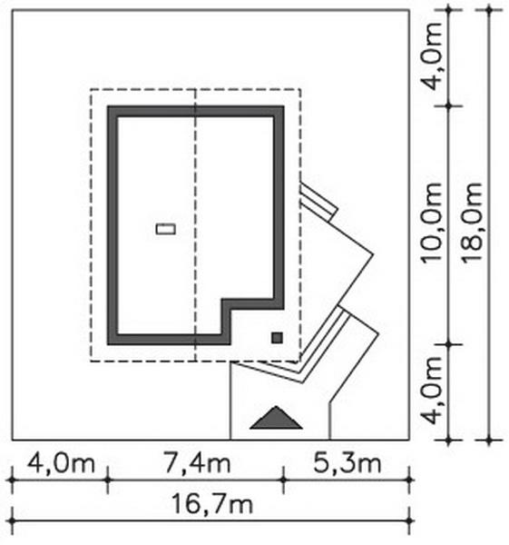 small 2 bedroom rental house plan (6)
