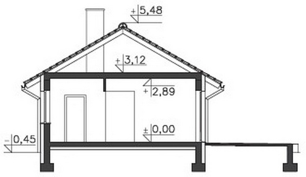 small 2 bedroom rental house plan (7)