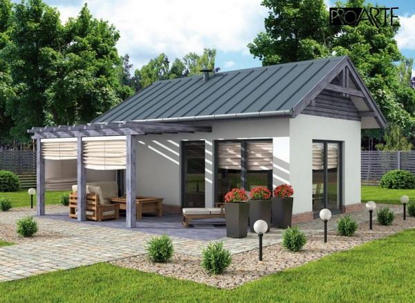 small blue concrete house (1)