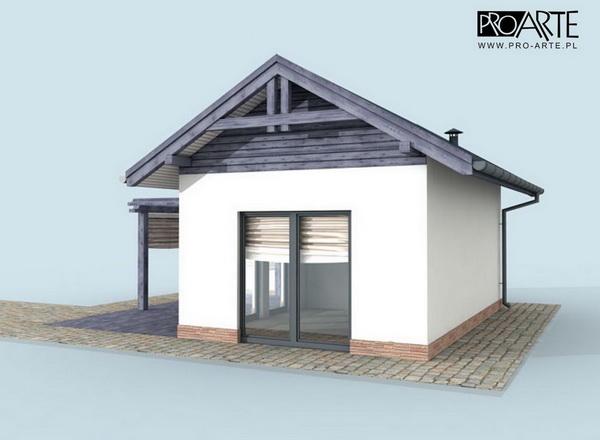 small blue concrete house (3)