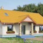 แบบบ้านชั้นเดียวดีไซน์น่ารัก สีสันสดใส ดูผ่อนคลายและอบอุ่นเป็นกันเอง