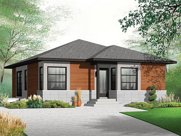 small grey hip roof house (1)
