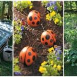 26 ไอเดียตกแต่งสวน จากของเหลือใช้ ทำง่ายๆ สไตล์ DIY