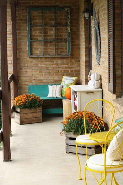 vintage-yellow-front-porch-ideas