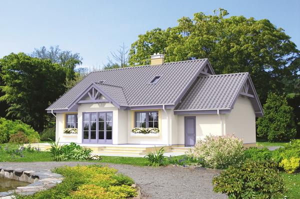 white romantic family house (2)
