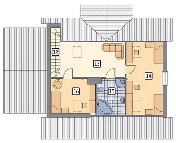 white romantic family house (5)