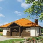 บ้านร่วมสมัย ตกแต่งด้วยไม้สีเข้ม ความลงตัวของครอบครัวขนาดกลาง
