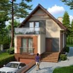 บ้านเดี่ยวร่วมสมัย หลังคาทรงจั่ว ออกแบบภายนอกถึง 4 รูปแบบ