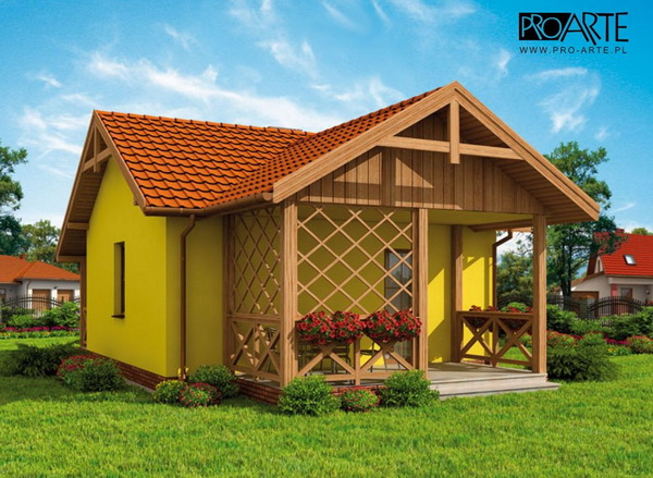 yellow small house plan (2)
