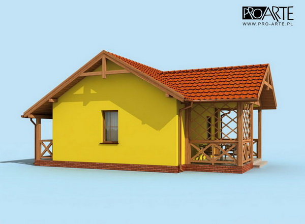 yellow small house plan (4)