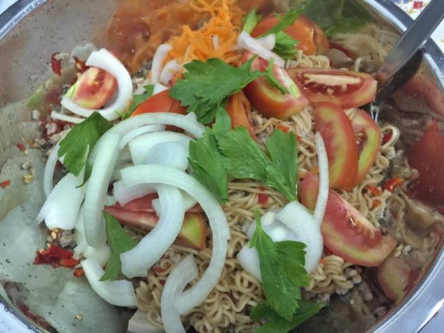 1 big cup of mama noodle salad (11)