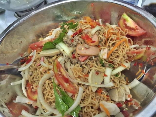 1 big cup of mama noodle salad (12)