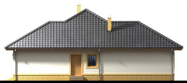 1 storey white hip roof house (2)