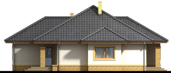 1 storey white hip roof house (4)