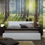 """10 ไอเดียแต่งผนังห้องนอนด้วย """"ภาพวิวเหมือนจริง"""" สวยราวกับห้องนอนในฝัน"""