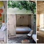 10 ไอเดีย พื้นที่พักผ่อนบนเฉลียง ทั้งเตียงนอนและชุดโซฟา