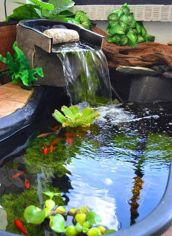 11 backyard fish pond ideas (7)