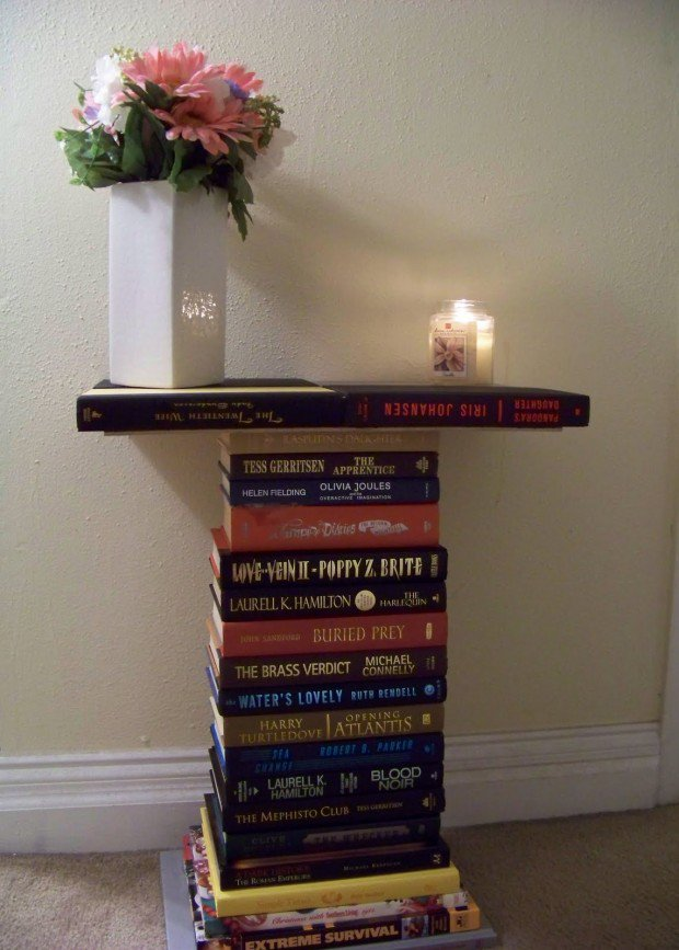 13 ideas to reuse old books for house decoration (2)