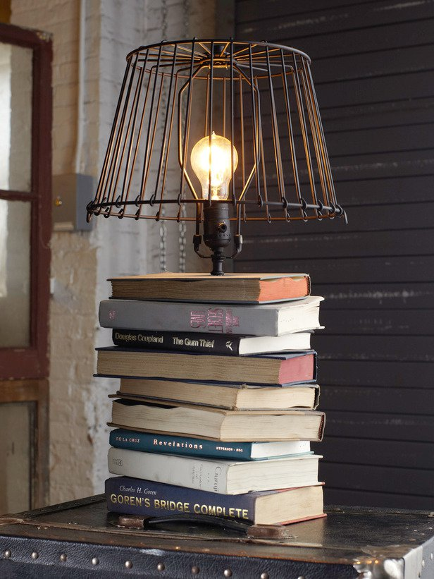 13 ideas to reuse old books for house decoration (4)