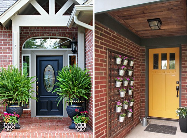 15 Front Door Flower Decorations (1)