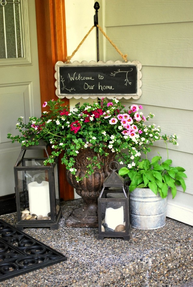 15 Front Door Flower Decorations (10)
