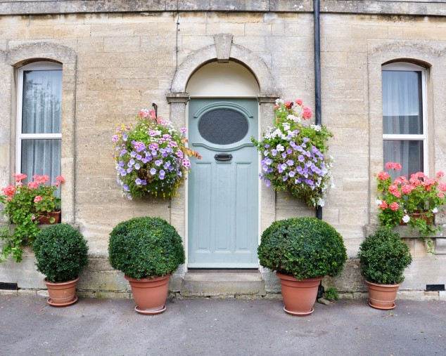 15 Front Door Flower Decorations (15)