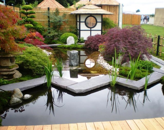 18 Ideas gardens in Japanese style (1)