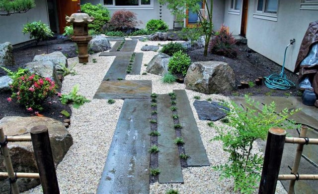18 Ideas gardens in Japanese style (8)