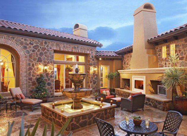 18 fountain designs courtyard (7)