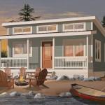 บ้านเคบินตากอากาศ 2 ห้องนอน 1 ห้องน้ำ เหมาะที่จะประยุกต์เป็นรีสอร์ทหรือเกสเฮ้าส์
