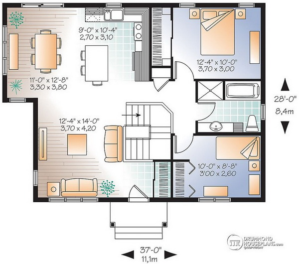 2 bedroom grey gable house (2)