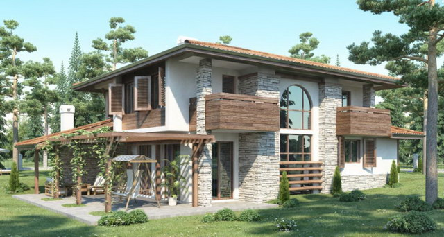 2-storey-forest-wooden-stoned-house (1)