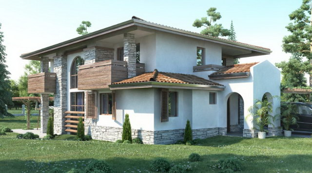 2-storey-forest-wooden-stoned-house (2)