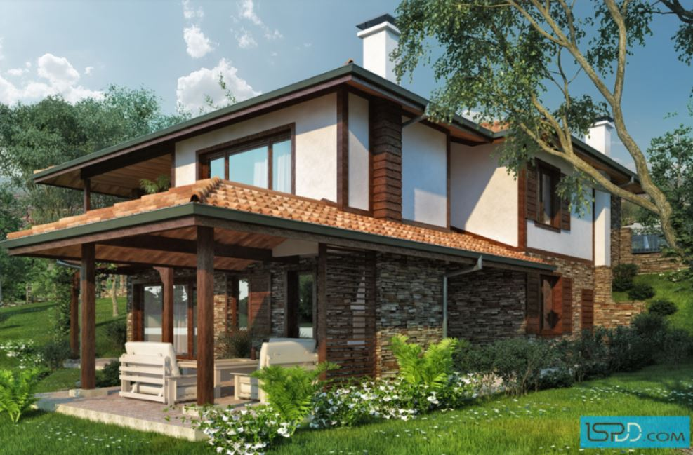 2 storey natural country house (1)