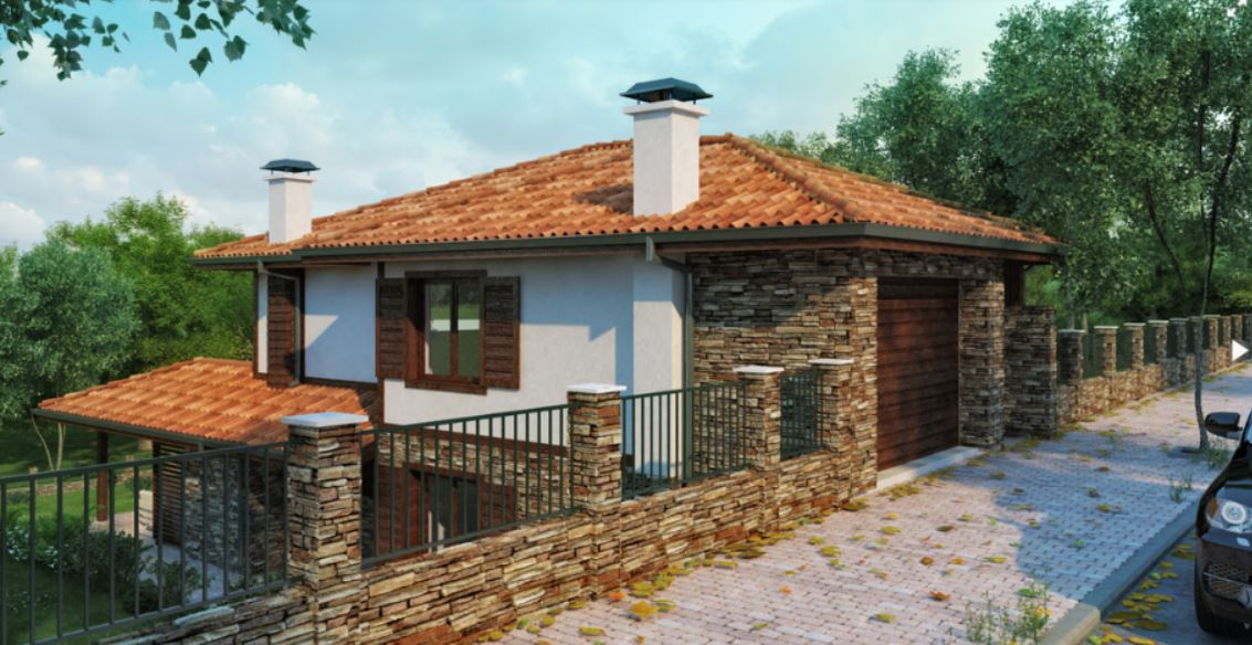 2 storey natural country house (3)
