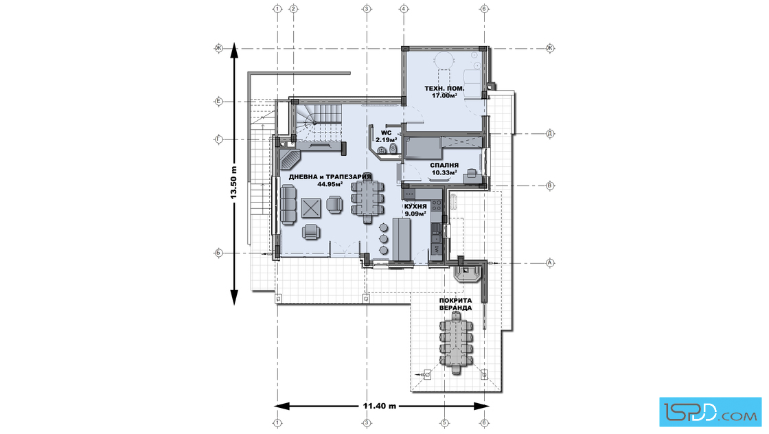 2 storey natural country house (4)