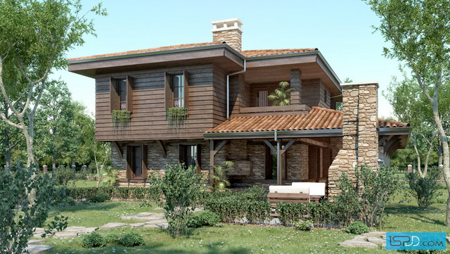 2-storey-natural-wooden-rock-ambience-house-1