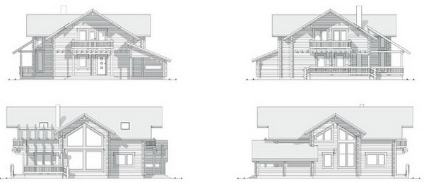2 storey riverside cabin house (3)