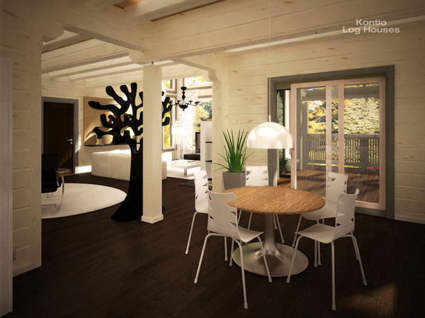2 storey riverside cabin house (8)