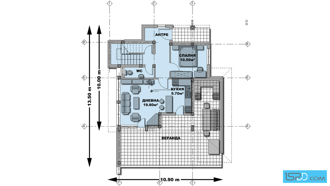 2 storey white wooden patterned modern house (4)