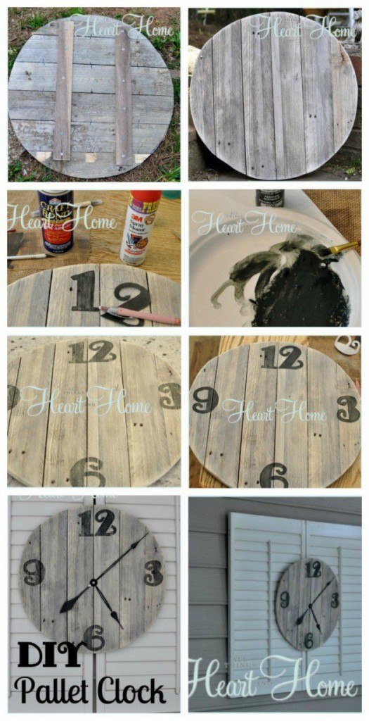 20 Ideas decorate walls with art on pallets (10)