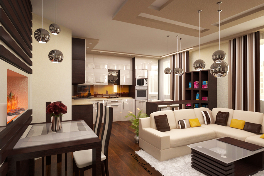 20 living kitchen room ideas (11)
