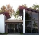 บ้านตากอากาศ สไตล์โมเดิร์น 3 ห้องนอน ตกแต่งภายในเอาใจวัยรุ่น