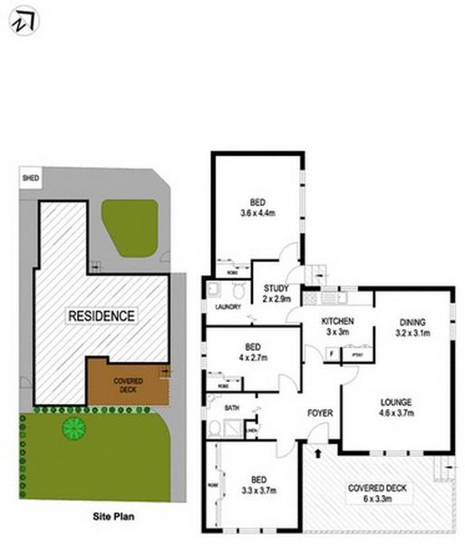 3 bedroom hip roof terrace house (8)