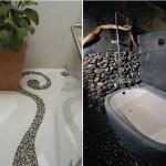 แนวทางสร้างบ้าน : รวม 4 ไอเดียแต่งพื้นห้องน้ำสไตล์ธรรมชาติ สร้างบรรยากาศผ่อนคลายให้แก่ผู้ใช้งาน