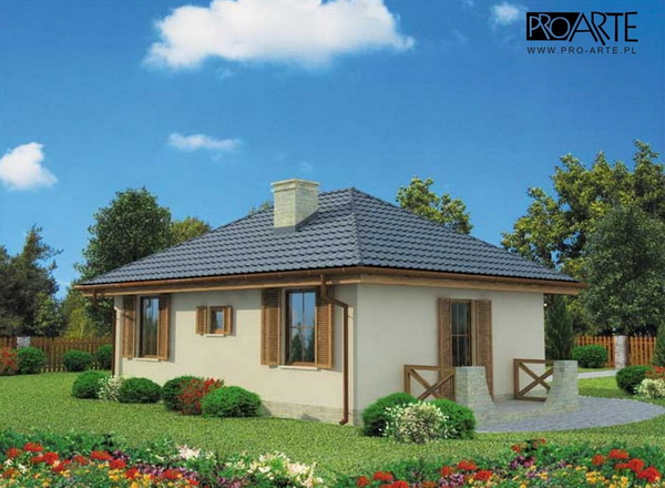 50 sqm small hip roof house (2)