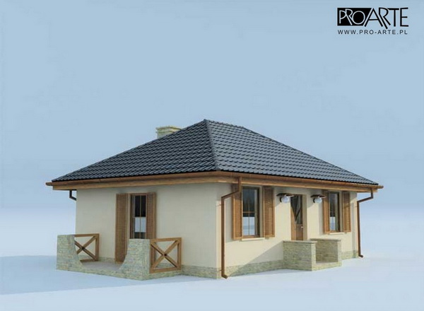 50 sqm small hip roof house (3)