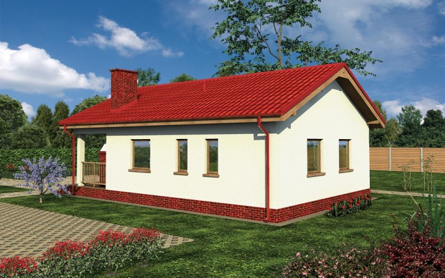Compact house simple decor wood (3)