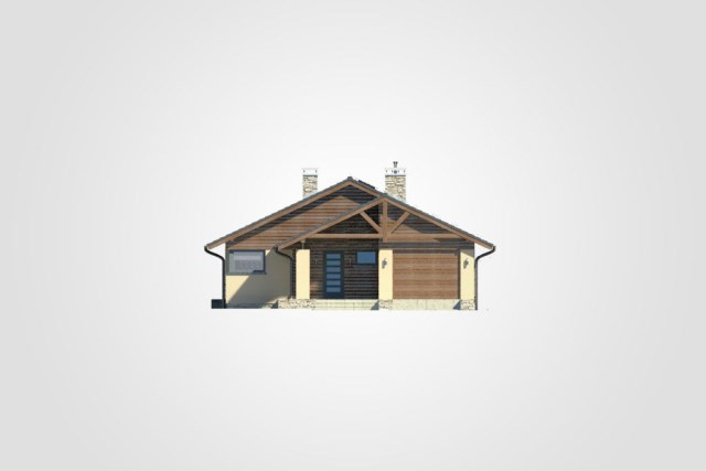Compact house simple design decor wood (1)