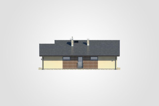 Compact house simple design decor wood (2)